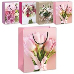 144 of Mothers Day Flower Gift Bag Xlarge