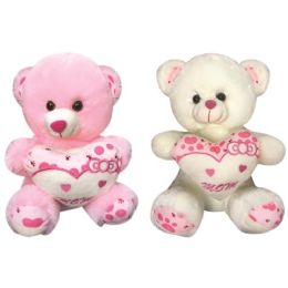 """12 of 16"""" Bear With/heart"""