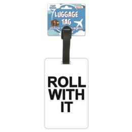 144 of Luggage Tag Roll With it