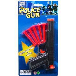 72 of Toy Gun With Five Piece Soft Darts On Blister Card