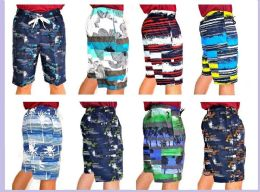 48 of Men's Printed Bathing Suit
