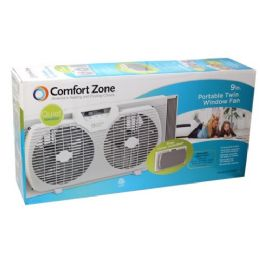 "2 of 9"" Window Twin Portable Fan"
