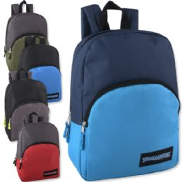 24 of 15 Inch Promo Backpack - 5 Colors