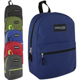 24 of Trailmaker Classic 17 Inch Backpack - 6 Colors