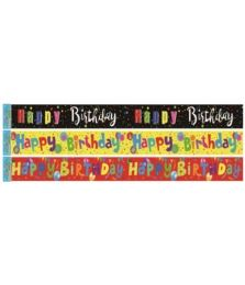 96 of Birthday Banner Twelve Feet
