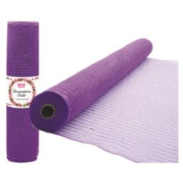 96 of Tulle Fabric Roll Lavender