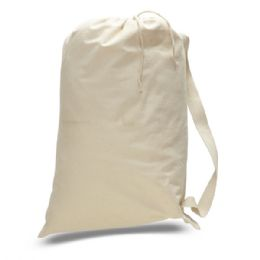 72 of Large 12 Ounce Laundry BaG-Natural