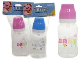 72 of Baby Bottles In Assorted ColorS- 11 oz