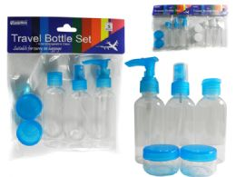 96 of 5pc Travel Bottle Set