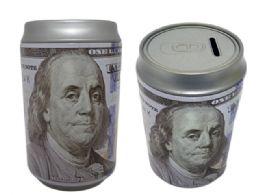 48 of Coin Bank, Saving Tin, Us $100 Bill