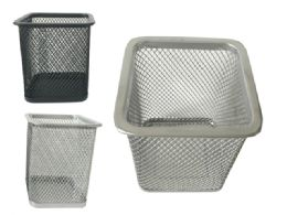 96 of Wire Mesh Pen & Stationery Holder