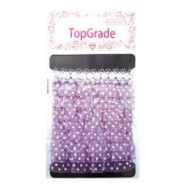 144 of Purple Trimming Polka Dot