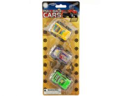 36 of PulL-Back OfF-Road Toy Trucks Set