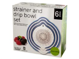 12 of Strainer & Drip Bowl Set