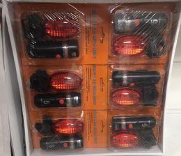 72 of Bike Safety Light 2pc Set