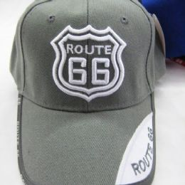 """24 of """"route 66 """" Base Ball Cap"""