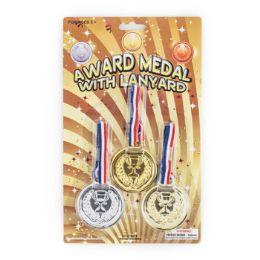 48 of 3 Pack Award Medal