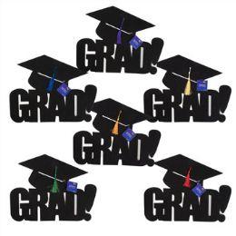 72 of Felt Graduation Cutout - Grad Hat W/ Tassle