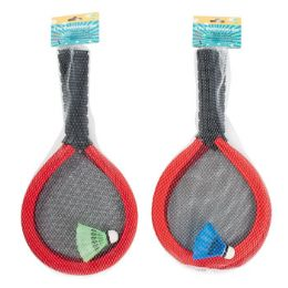 12 of Badminton Set Oversize Foam 2 Rackets & 1 Shuttlecock