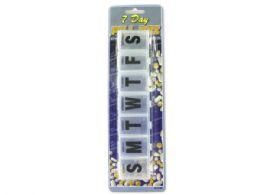 72 of 7-Day Jumbo Pill Box