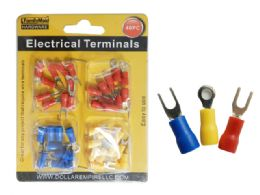 144 of 40pc Electrical Terminals In 3 Asst Colors