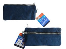 144 of 2-Pocket Zippered Pencil Pouch