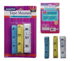 96 of 3 Piece Tape Measures