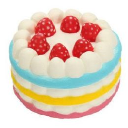 36 of Slow Rising Squishy Toy *strawberry Cake