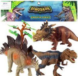 6 of 6 Piece Jumbo Dinosaur Sets