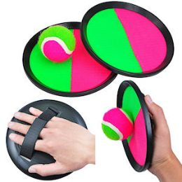 12 of Velcro Catch Ball Game Sets