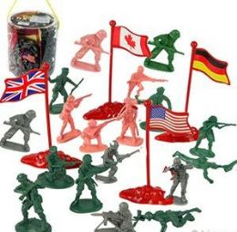 6 of 200 Piece Soldier Sets