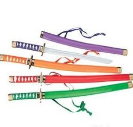 60 of Ninja Swords Assorted Colors