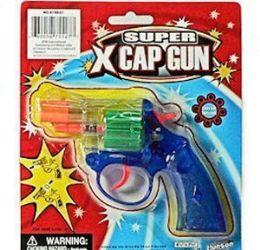 48 of Translucent Super X Cap Guns Pistol