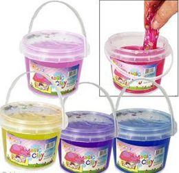 36 of Large Magic Clay Slimes W/ Fruit Confetti