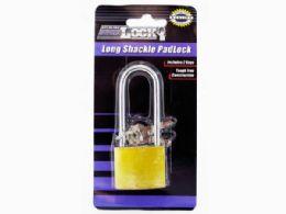 72 of Iron Long Shackle Padlock With 3 Keys