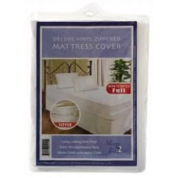 24 of Heavy Duty Zippered Mattress Cover King