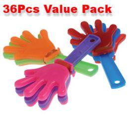 80 of 36 Piece Mini Hand Clapper Noisemakers