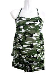 36 of 2 Piece Camo Tanks Set/ Size Assorted