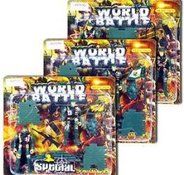 24 of 9 Piece World Battle Soldier Play Sets