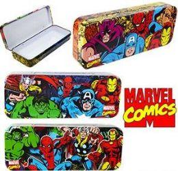 96 of Marvel Comics Metal Pencil Boxes