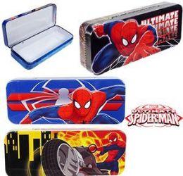 96 of Spiderman Metal Pencil Boxes