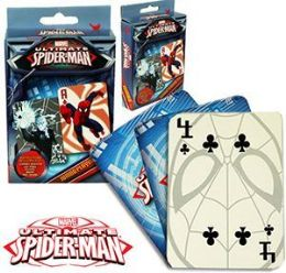 24 of Spiderman Jumbo Playing Cards