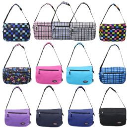 "24 of 16"" Track Messenger Bag In A Random 6 Colors And 7 Prints Assortment"