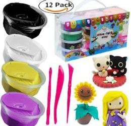 12 of Magic Modeling Clay Kit