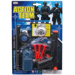 72 of 9pc Action Team Toy Gun Play Set In Blister Card