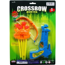 96 of Crossbow Play Set With Soft Darts On Card