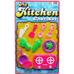 96 of My Kitchen Chef Play Set On Blister Card