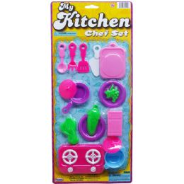 48 of Kitchen Play Set On Blister Card