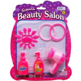 96 of Beauty Salon Play Set On Blister Card