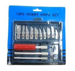 96 of 13 Piece Hobby Knife Set